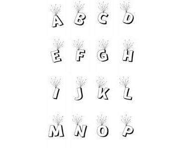 Fliegende Buchstaben für die Kinderzimmertür – kreative Türschilder basteln