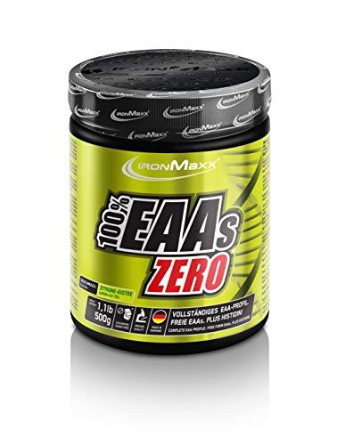 IronMaxx EAA Zero - Dose - Ice Tea Lemon, 1er Pack(1 x 500 grams)