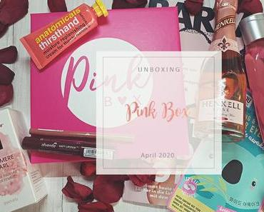 Pink Box - April 2020 - unboxing
