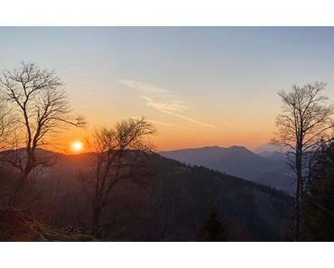 Bild der Woche: Hochstadelberg Sonnenaufgang