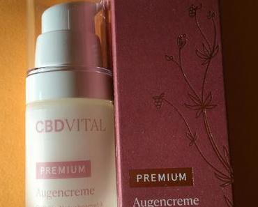 [Werbung] CBD Vital Premium Augencreme