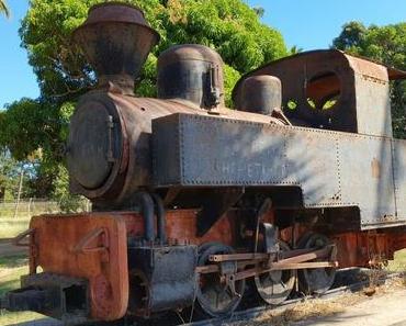 Dampflokomotive in Madagaskar
