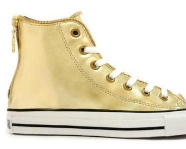#Converse Chuck Taylor All Star #Chucks #Gold High AS Zipper