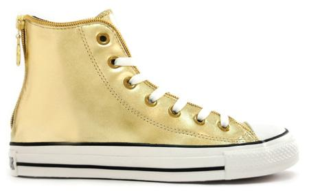 Converse Chuck Taylor All Star #Chucks #Gold High AS Zipper