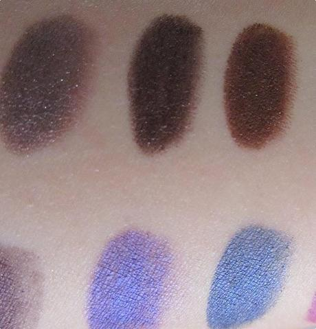 Urban Decay 24/7 Glide-On Eye Pencil Set - Swatches