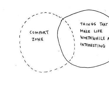 Außerhalb der Comfort Zone...