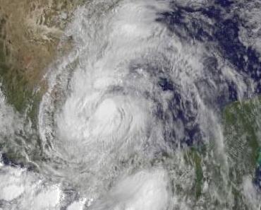 Tropischer Sturm ARLENE macht Landfall bei Cabo Rojo, Veracruz, Mexiko