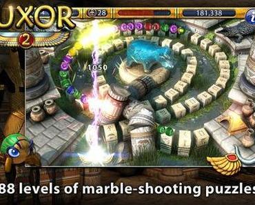 Luxor 2: neuer Marble-Shooter für iPhone & iPad