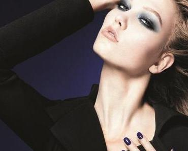 Dior Fall Look 2011: Blue Tie