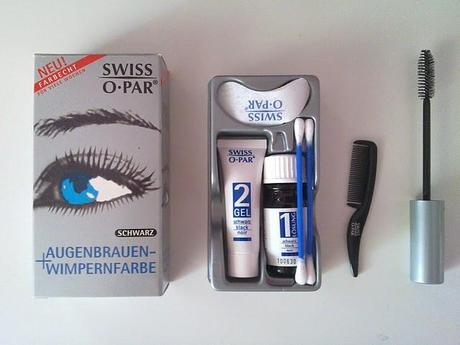 Review: Wimpern färben.