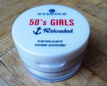 Essence 50's Girls Reloaded LE  - Translucent Loose Powder