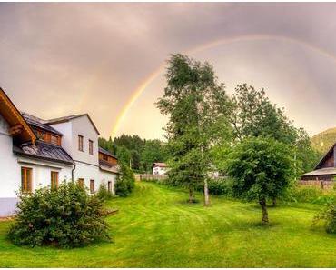 Regenbogen im Mariazellerland
