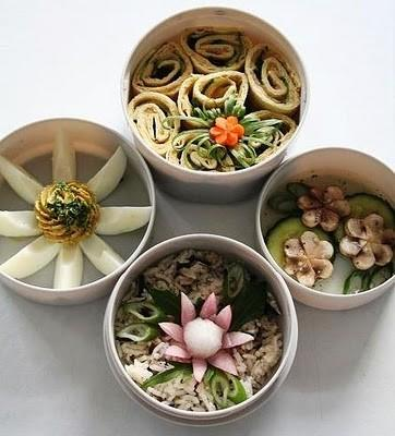 Inspiration - Bento Lunches
