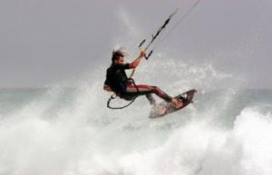 Trendsport Kitesurfen