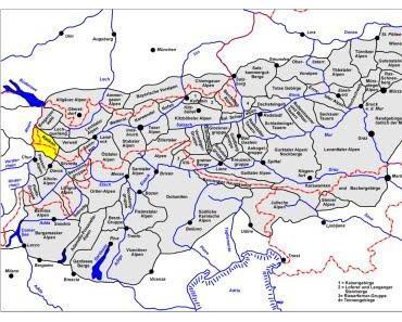 Alpengeografie mit Widmer