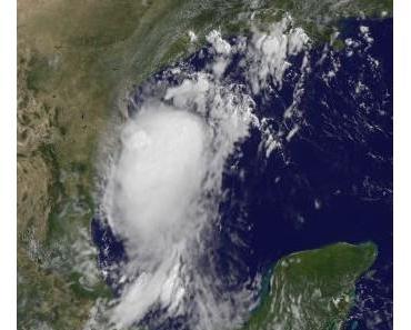 Tropischer Sturm DON kommt vor Texas an