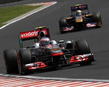 Formel1 Button gewinnt dank guter Taktik