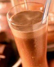Schoko-Milchshake mit Stevia