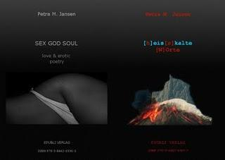 Drei Poesiebände von Petra M. Jansen