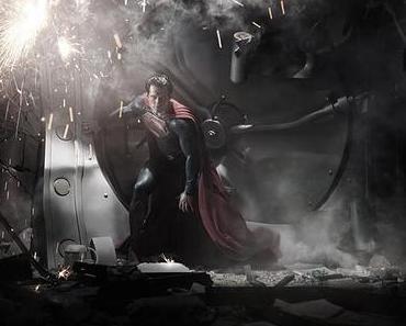 Man of Steel: Erstes Foto von Henry Cavill im Superman-Kostüm