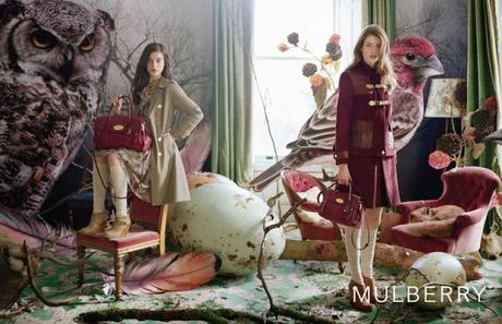 Mulberry Add Campaign AW 2011/ 2012