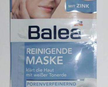 Review   Balea Reinigende Maske mit Zink