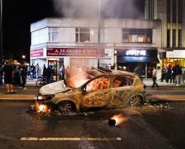 London: Soziale Unruhen