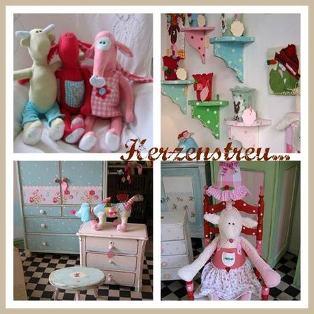 shabby chic meets Alice in Wonderland!
