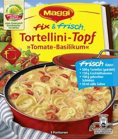 """Maggi fix & frisch Tortellini-Topf """"Tomate Basilikum"""""""