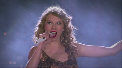 Taylor Swift: Sparks Fly Musik Video