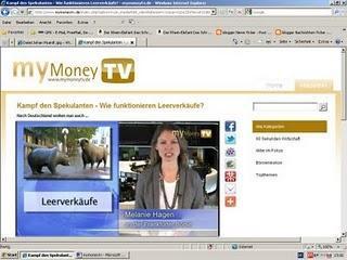 myMoneyTV.de informiert über Börsen und Finanzen