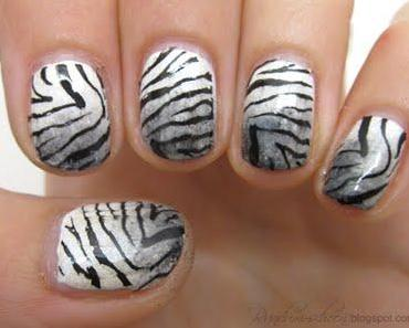 Nails - Dirty Zebra