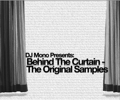 dj mono behind the curtains 1024x860 DJ Mono Presents: Behind The Curtain   The Original Samples [Audio]