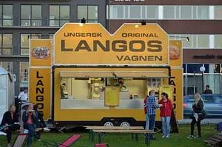 Internationales Essen beim Göteborger Kulturfest