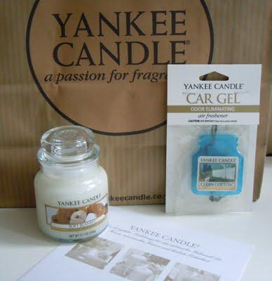 Elena liebt Yankee Candles!!!
