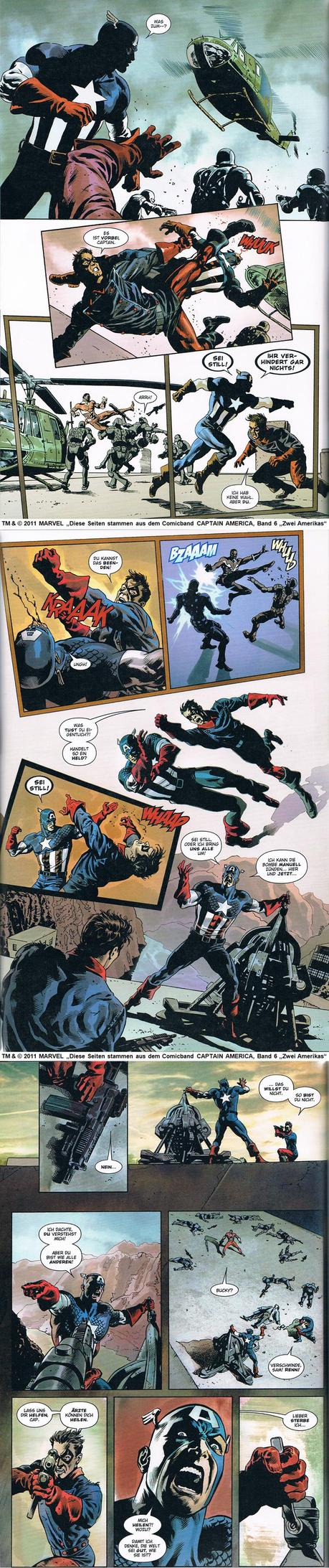 Comicstrip in Bloggeraktion zum Deutschlandstart von Captain America - The first Avenger