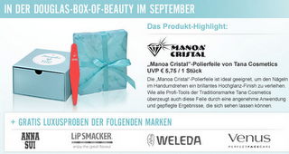 Preview: Douglas Box of Beauty September 2011