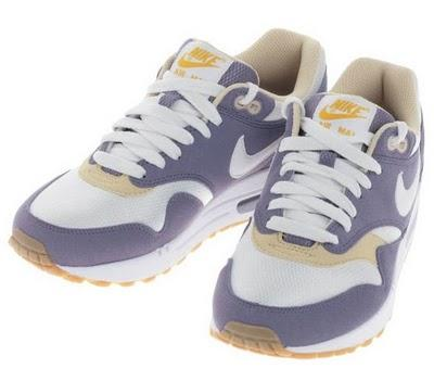 Nike Air Max 1 WMNS - lila/weiss