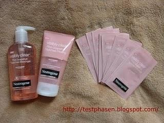 Neutrogena visibly clear Pink Grapefruit - Paketankunft