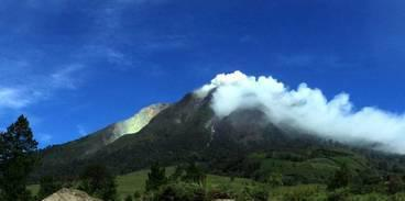 Vulkanausbruch auf Sumatra