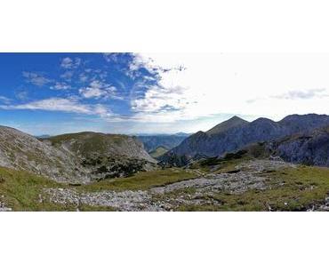 Hochschwab Tour über Gschöderer Kar – Schiestlhaus zum Gipfel