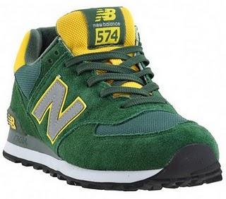 New Balance Grün 574
