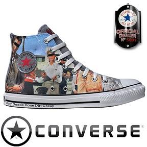 ACDC Dirty Deeds Done Dirt Cheap – Converse Chuck Taylor