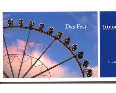 Das Fest - 5. Literaturfest Niedersachsen  der VGH-Stiftung 2010, noch bis 26.9.