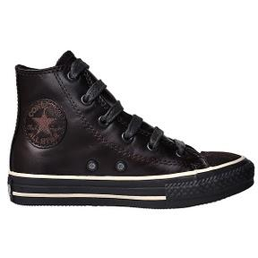 Converse Chuck Taylor All Star Kinder Chucks 3W584 Braun Leder