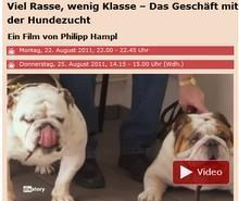 WDR - die halbe Wahrheit zur Hundezucht