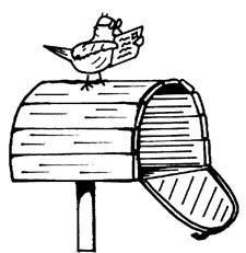 In meiner Mailbox/ Briefkasten