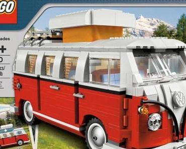 VW Bus Bulli Campingbus T1 aus Lego