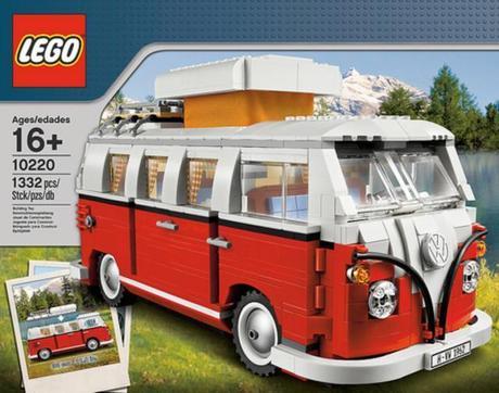 vw bus bulli campingbus t1 aus lego. Black Bedroom Furniture Sets. Home Design Ideas