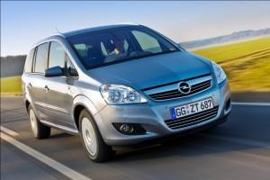 Der Opel Zafira B bald als Family und Family Plus Version